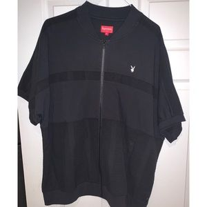 Supreme Short Sleeve Black Shirt